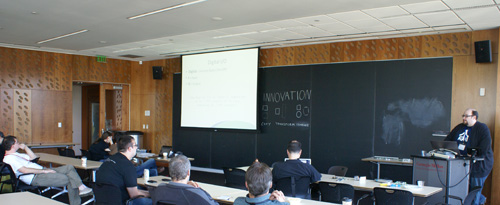 Hans Scharler at the 2011 Pittsburgh Perl Workshop